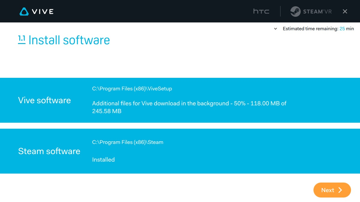 HTC Vive PRE Installation Guide  SteamVR  Steam Support