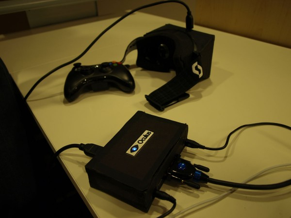 Oculus' Pre-DK1 Prototype, shown at CES 2013
