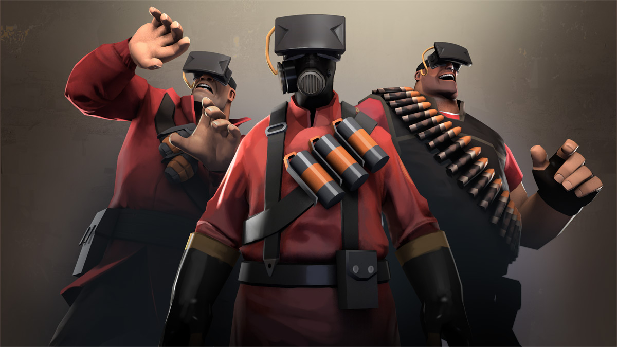 TF2 Oculus Rift Hat Pictured, VR Mode Patch and Wiki Page