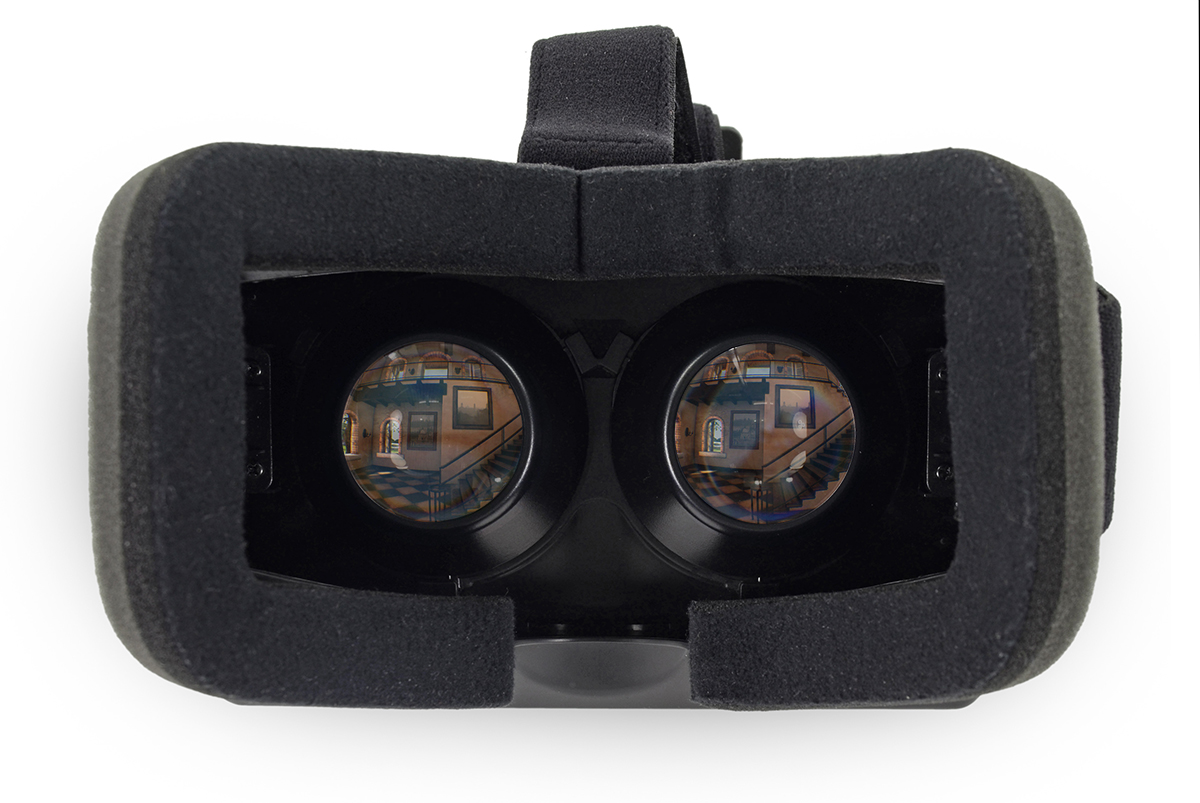 what does it look like in the oculus rift road to vr