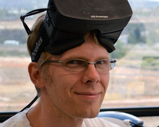 john carmack oculus rift cto chief technical officer
