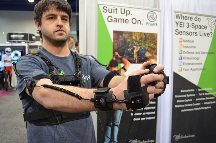 YEI's PrioVR Motion Capture IMU System