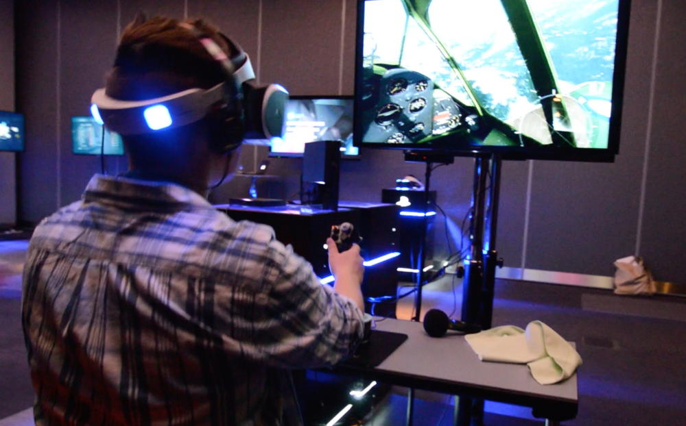 Gamescom 2014: Sony Shows War Thunder Running with Project Morpheus and HOTAS Support