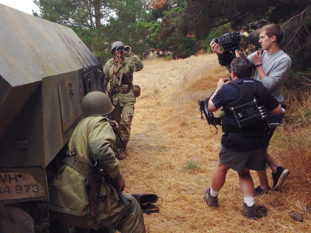On the Set of 'The Mission VR,' A WWII Short Film Shot for VR