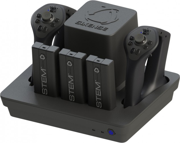 STEM motion input controller with three 'Packs'