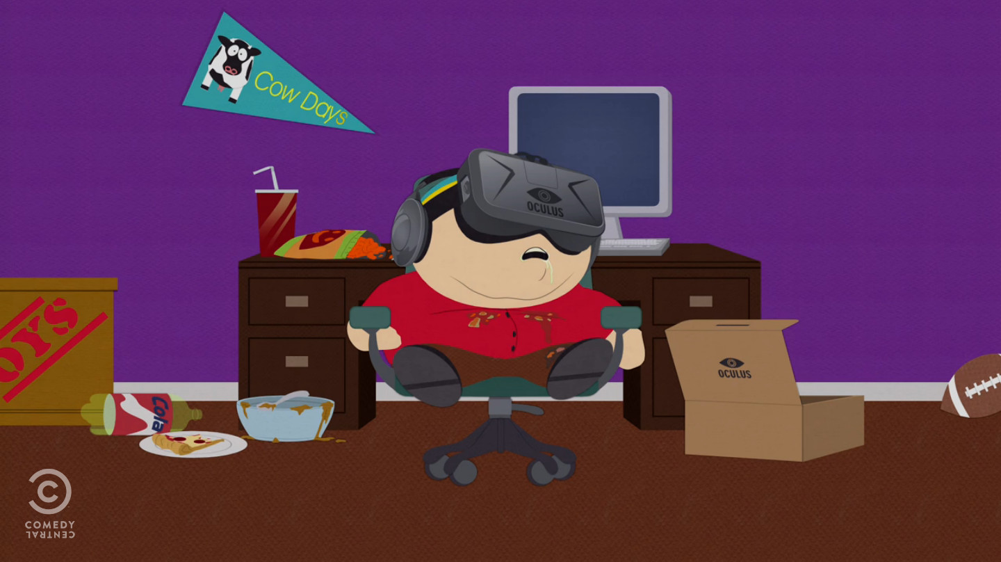 south park takes on the oculus rift road to vr