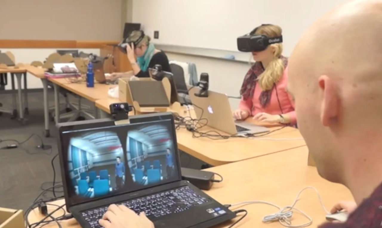 VR Chat' Used to Deliver One of the First University Lectures in