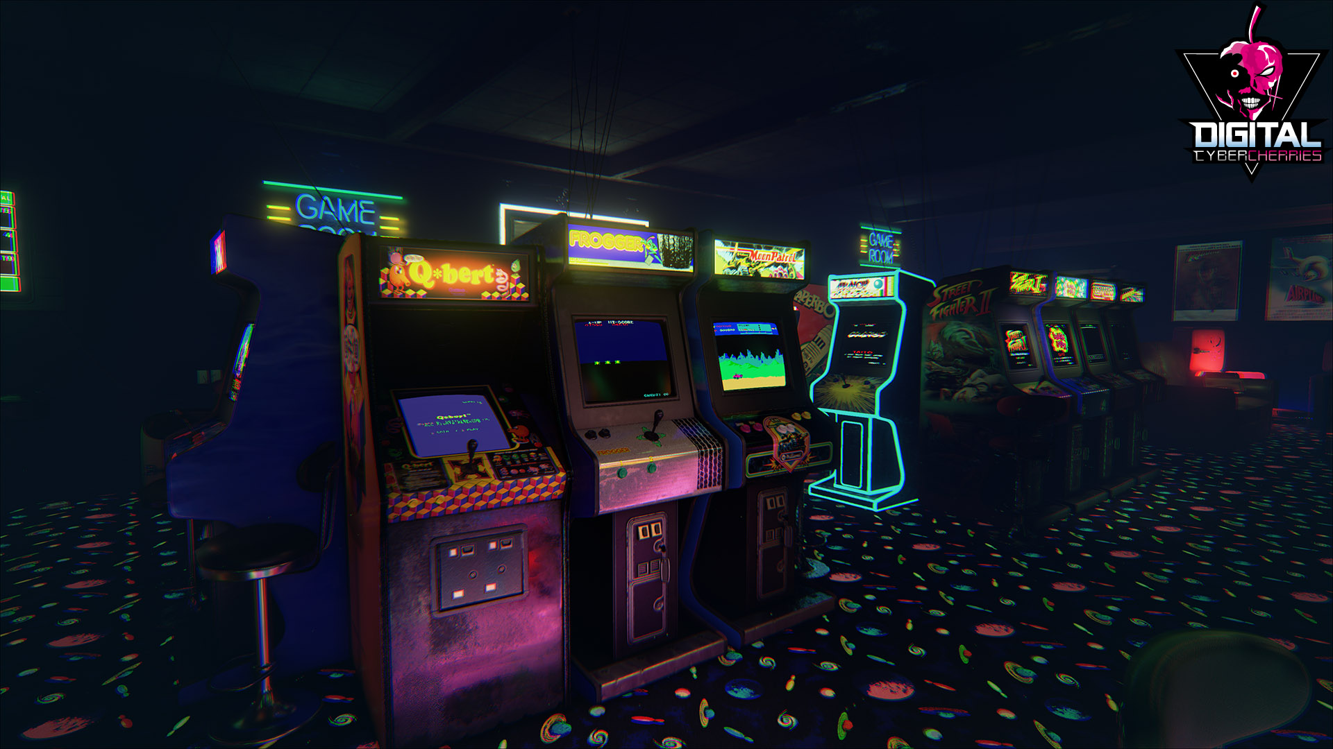 NewRetroArcade' is a Brilliantly Detailed 80's Arcade That