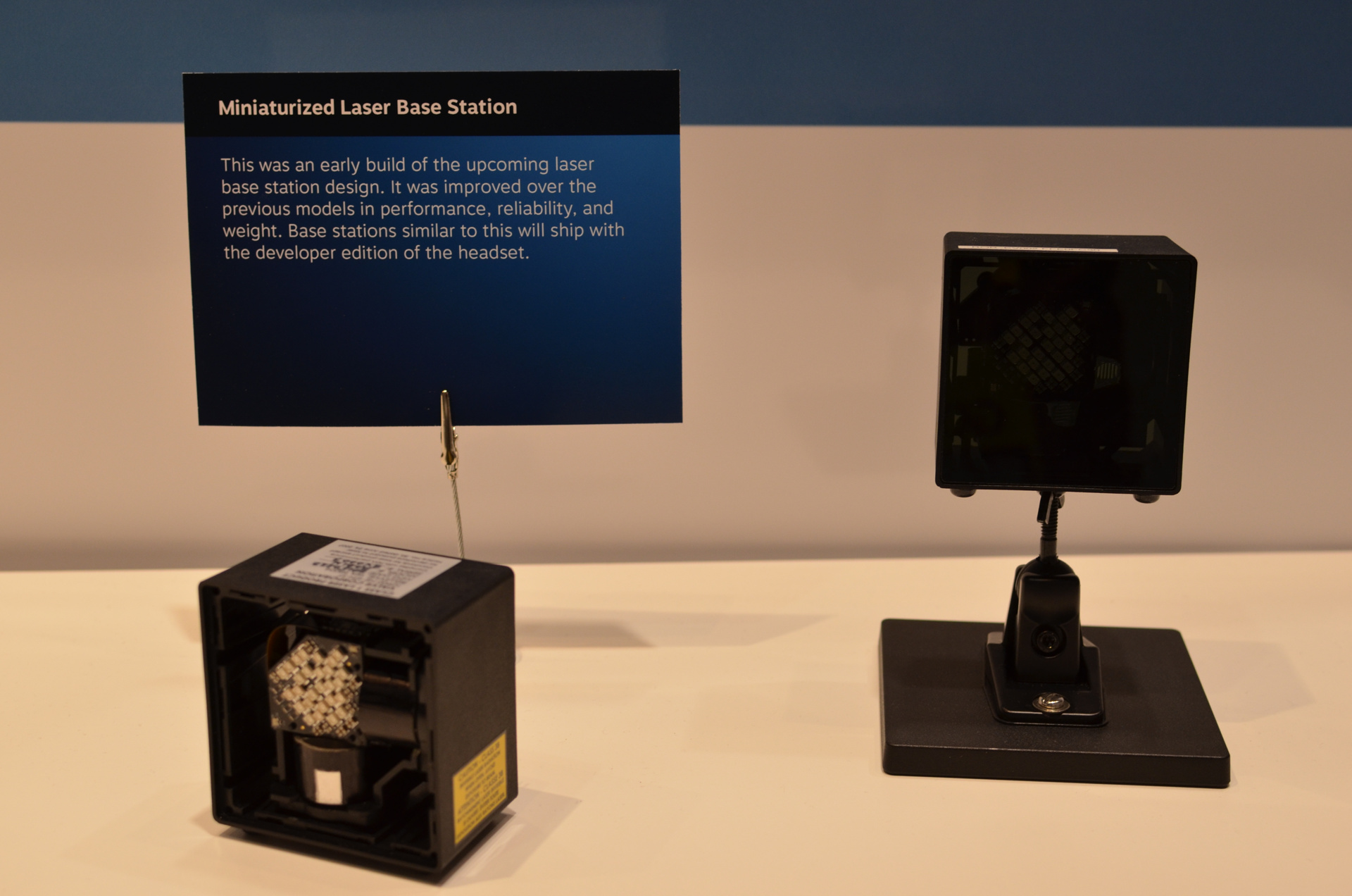 A Look Inside HTCs Steam VR Laser Tracking Base Stations