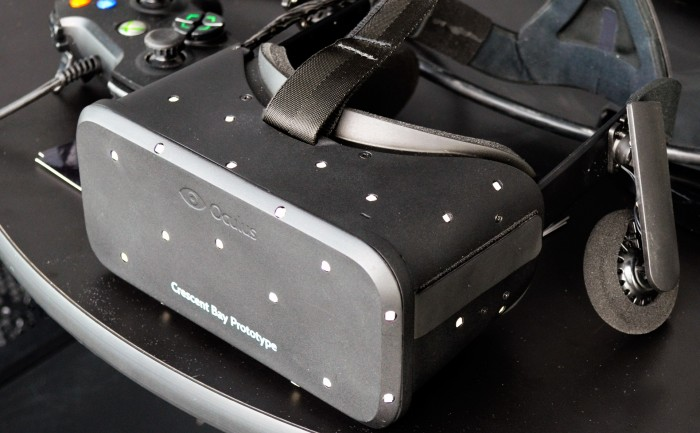 The Oculus Rift Crescent Bay Prototype