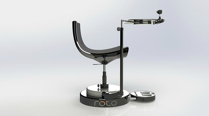 roto with chair