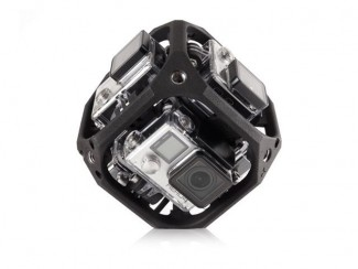 GoPro's 6-Camera Spherical Array (Image Courtesy The Verge)