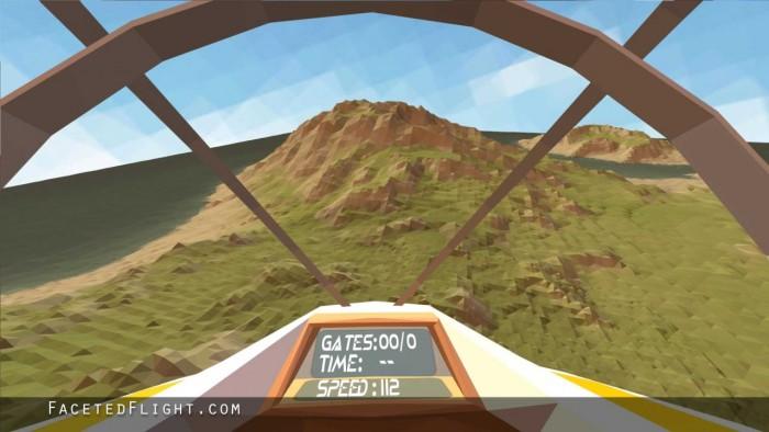 scenic faceted flight