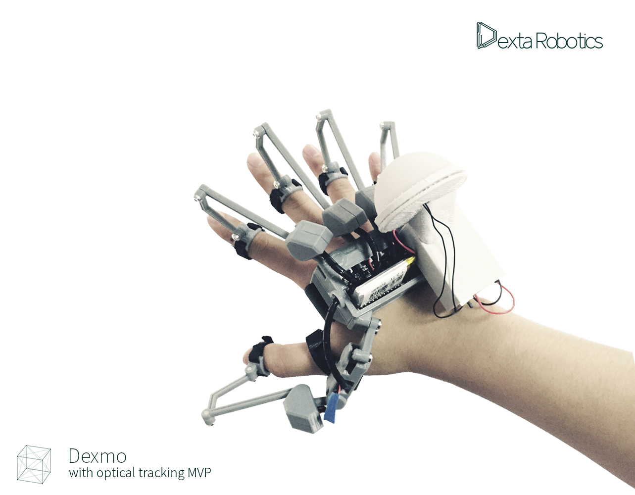 19cb11ba1010 Latest Dexmo Input Glove Features Positional Tracking with Full ...