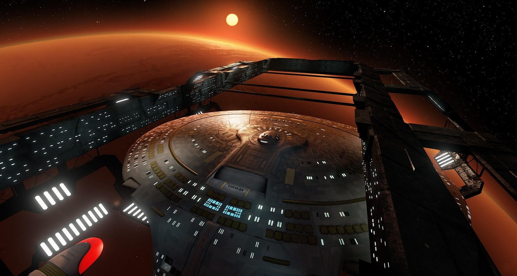 This Star Trek Enterprise Virtual Tour is VR Ready and Absolutely Incredible