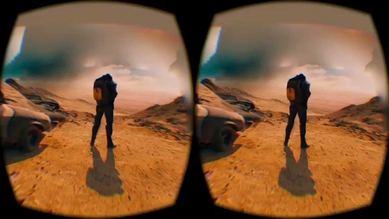 This 'Mad Max: Fury Road' VR Scene is Re-created Straight from a Blu-Ray Disc