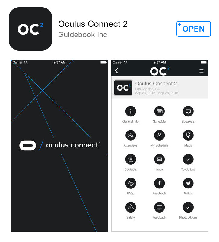 Whos Out Of Touch >> Oculus Connect 2 Mobile App Now Available, Check Who's Going and What's There – Road to VR