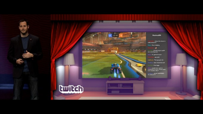 twitch on gear vr
