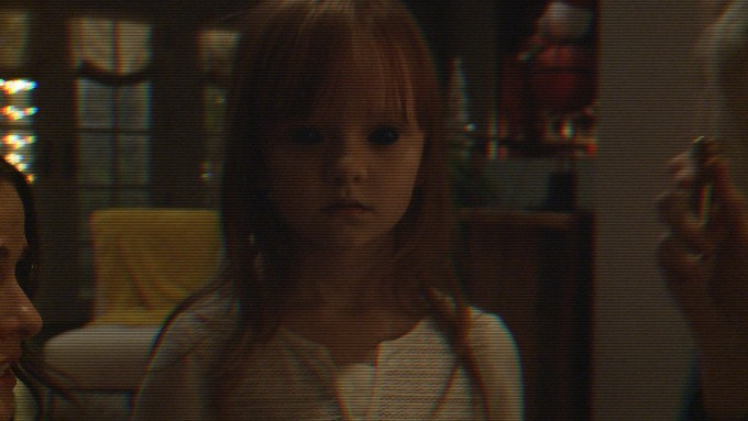 Shot from the Paranormal Activity: Ghost Dimension film