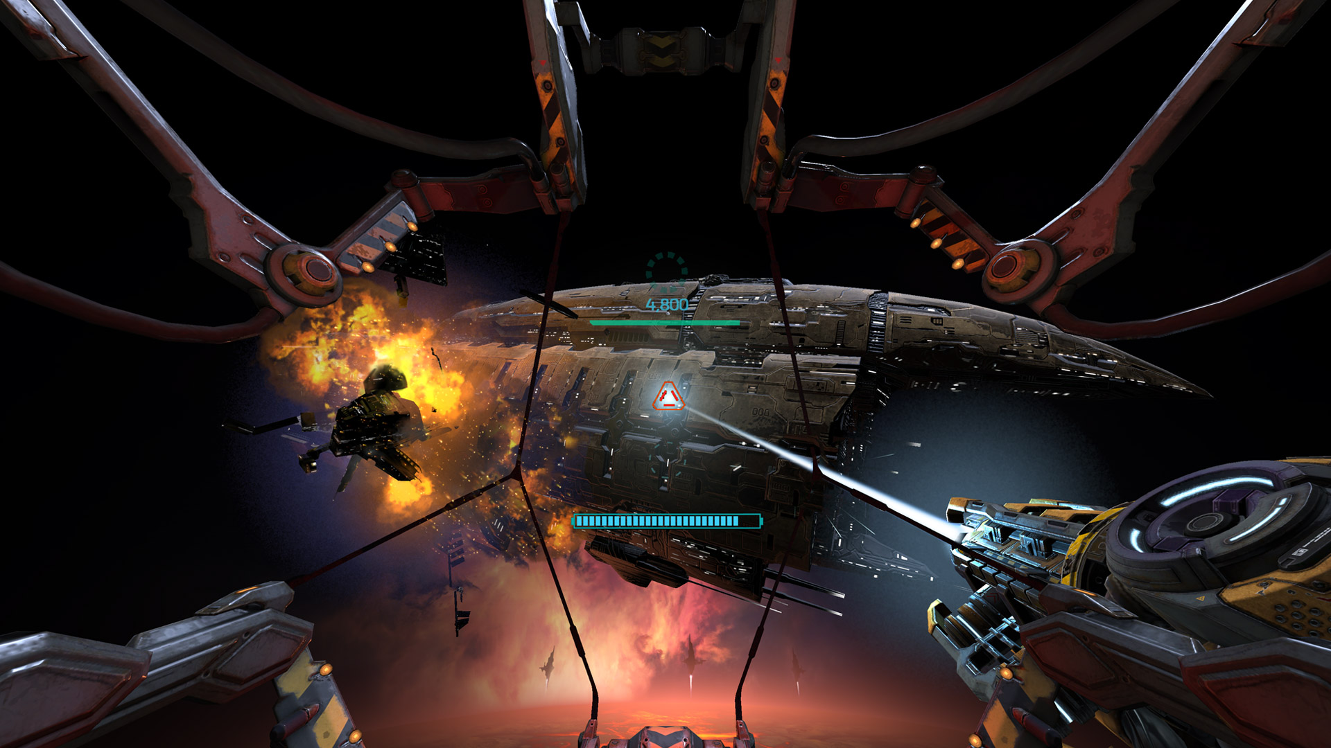 Review Gunjack Sets The Bar For Gear Vr Turret Shooters