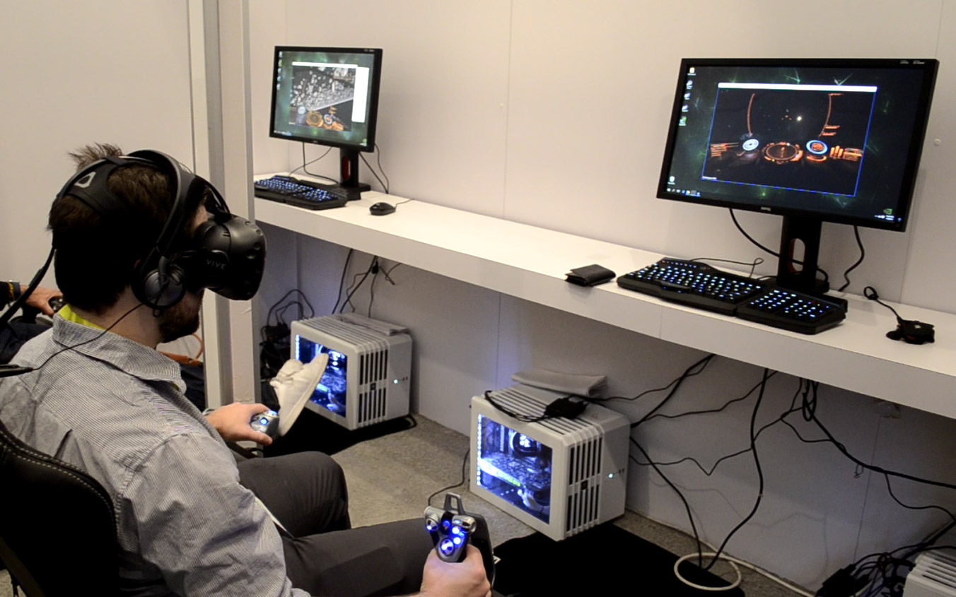 Steam Library Coming to VR with Desktop Theater Mode