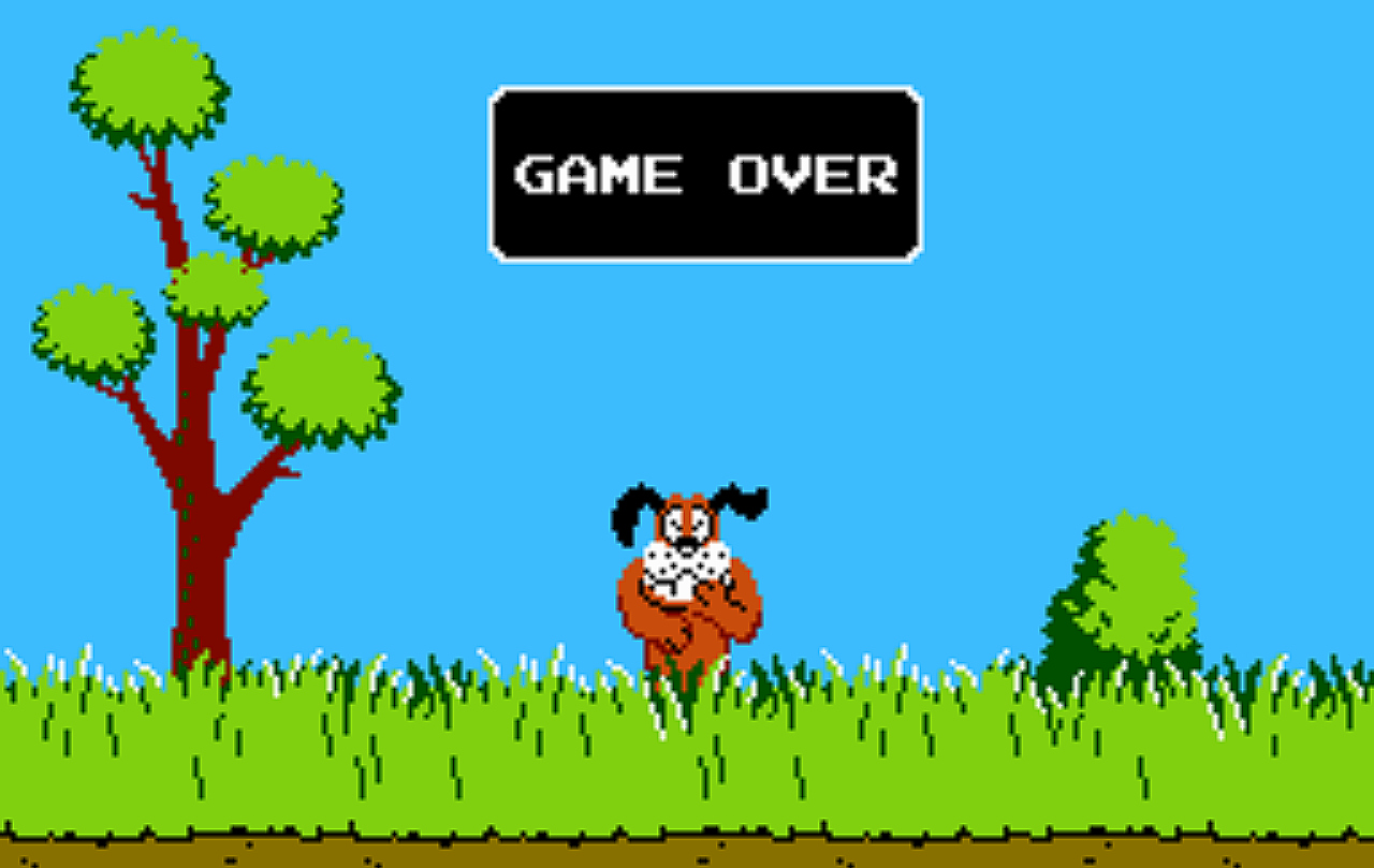 duck hunt u0027 in vr is a faithful recreation of the classic nes