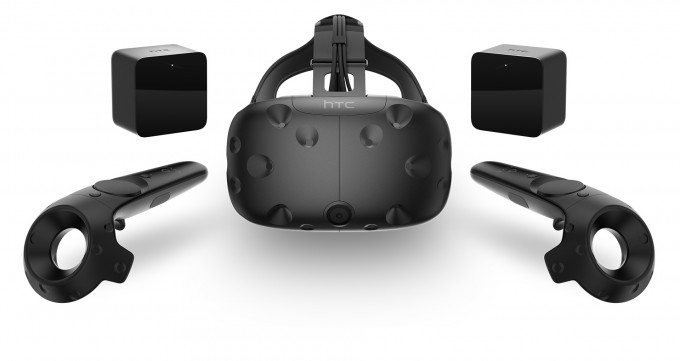 HTC-Vive-Headset-Consumer-Launch-Basestation-Controller-headset