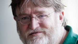 Valve's Gabe Newell | Photo courtesy Kotaku
