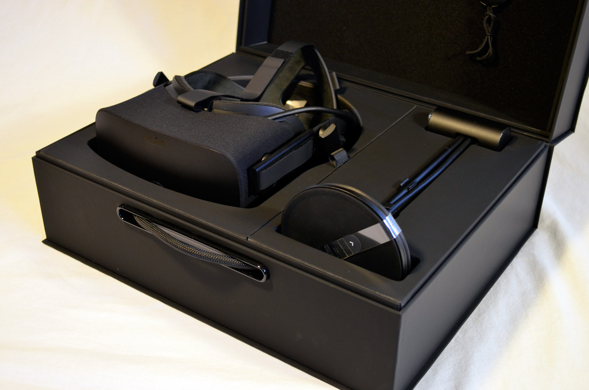 unboxing the new oculus rift step