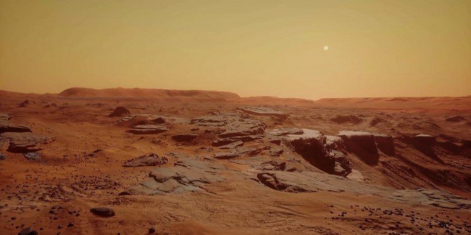 'Mars 2030' is a Real Mars Landscape the Size of 'Skyrim'
