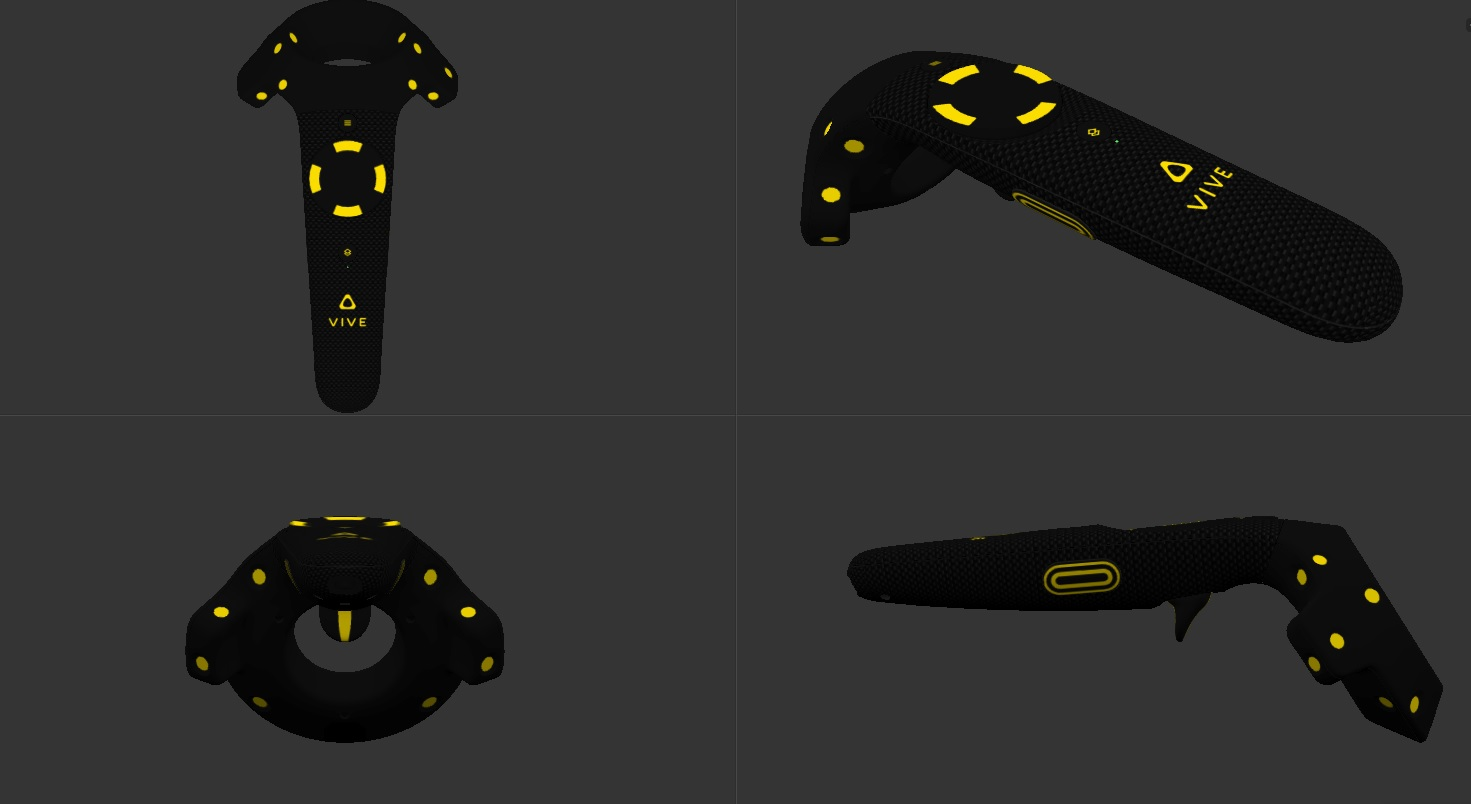 Steamvr Now Lets You Skin Your Controllers And Base