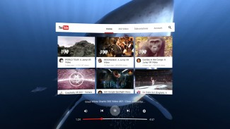 YouTube VR on Daydream has built from the ground up for VR.