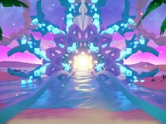 First Look at 'Harmonix Music VR' a Trippy Visualizer for Morpheus