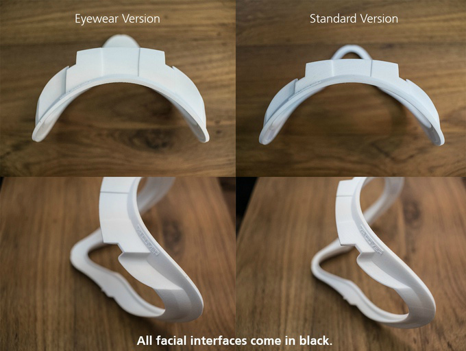 oculus rift facial interface
