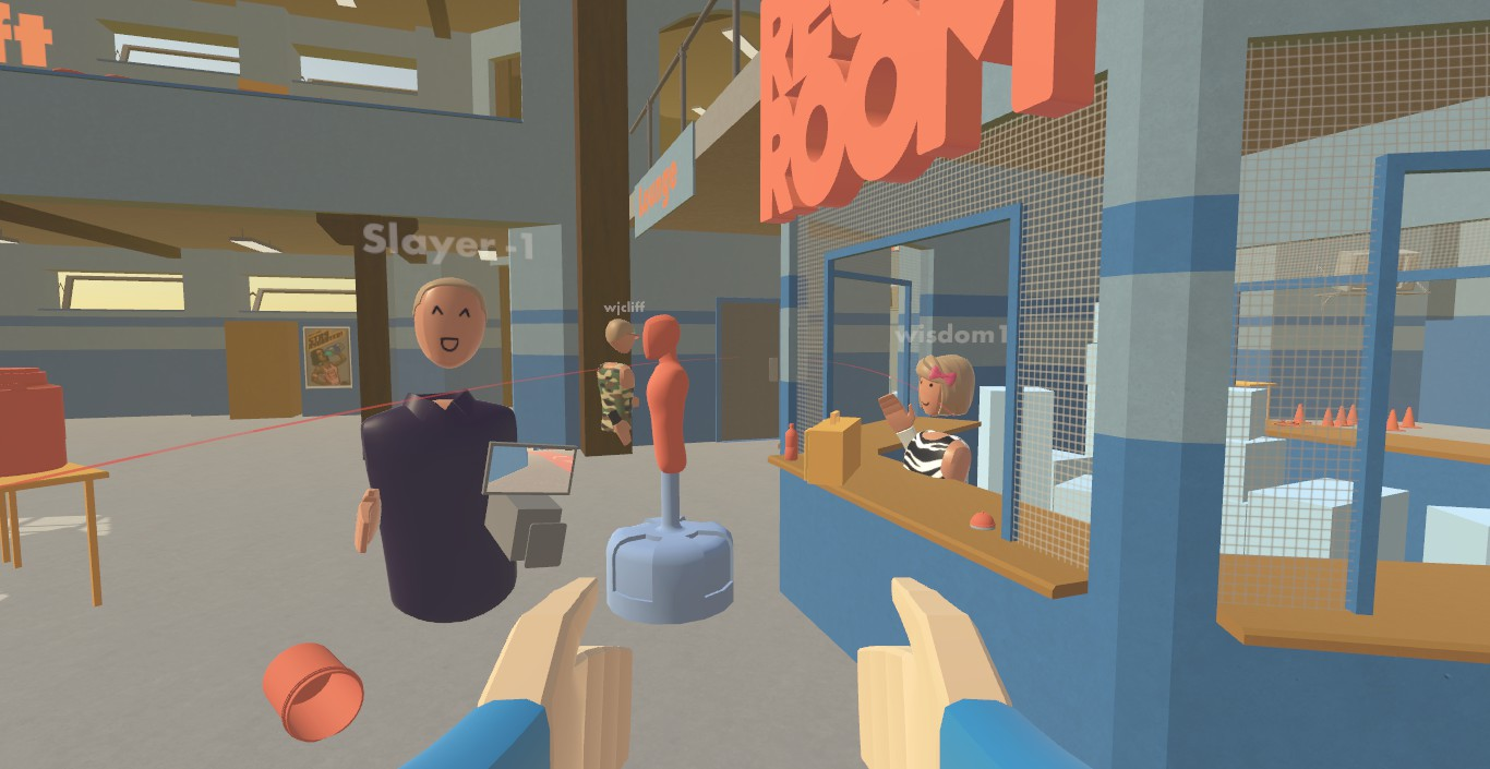 Why New Social VR App \'Rec Room\' Makes You Smile – Road to VR
