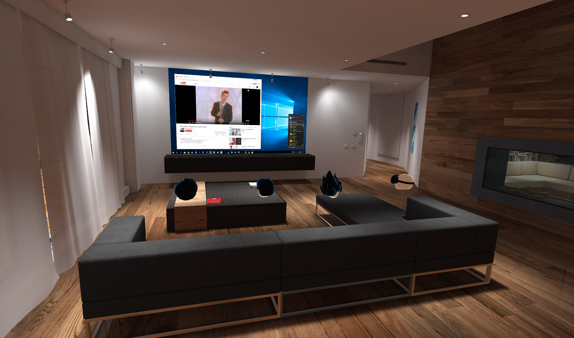 39 bigscreen 39 launches on oculus home update brings custom for Vr for home