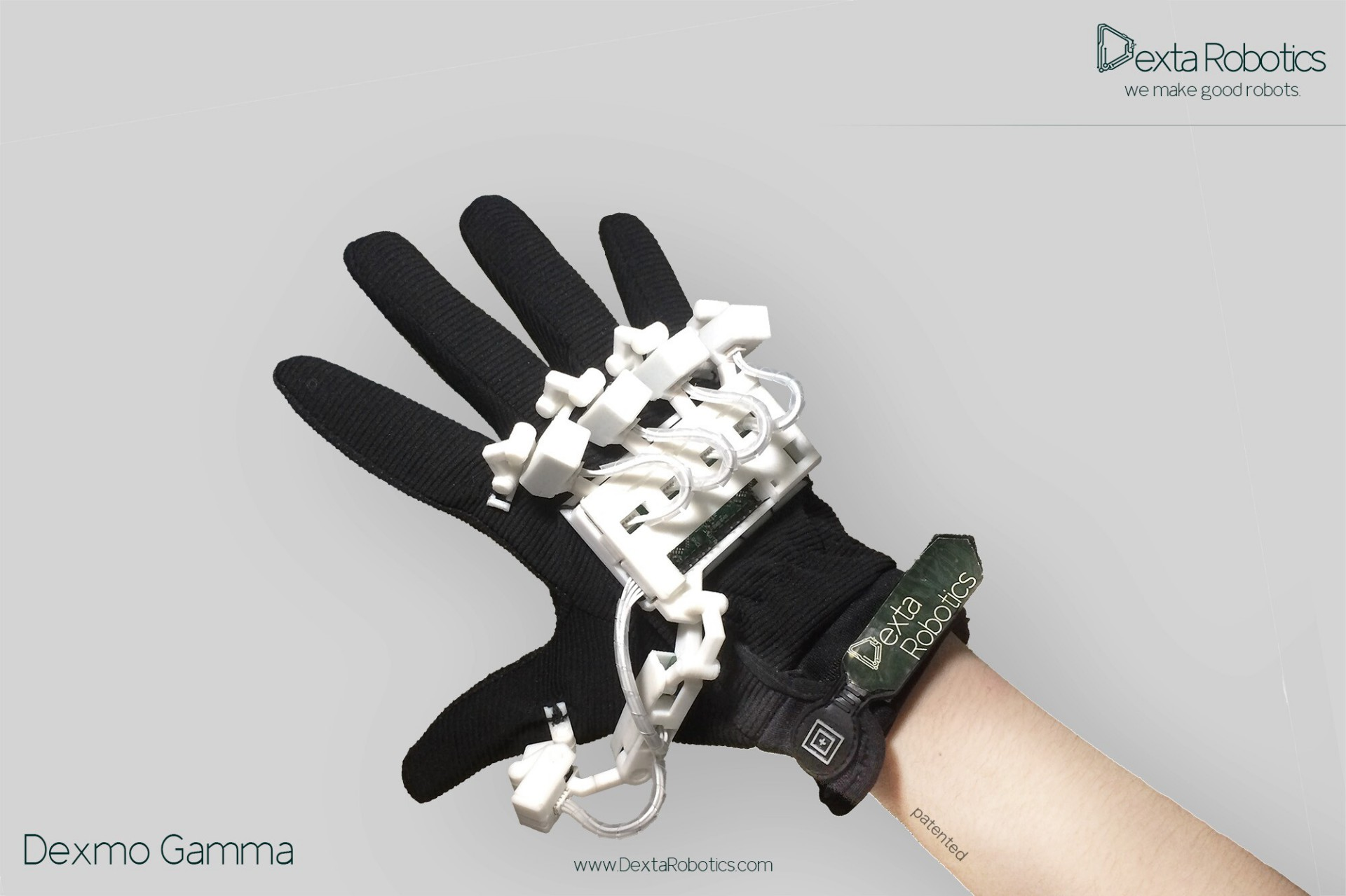 554f213f7b34 Dexmo Shows Latest VR Force Feedback VR Glove