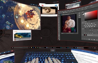 4 Virtual Reality Desktops for Vive, Rift, and Windows VR Compared
