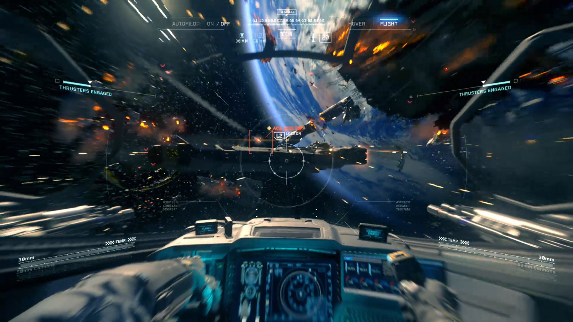 Call Of Duty Infinite Warfare Vr Experience To Be Shown On Psvr At Game Ps4 Piloting The Jackal In Photo Courtesy Activision