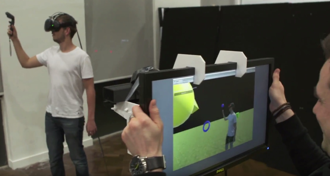 This Live Mixed Reality Solution Uses Kinect to Eliminate