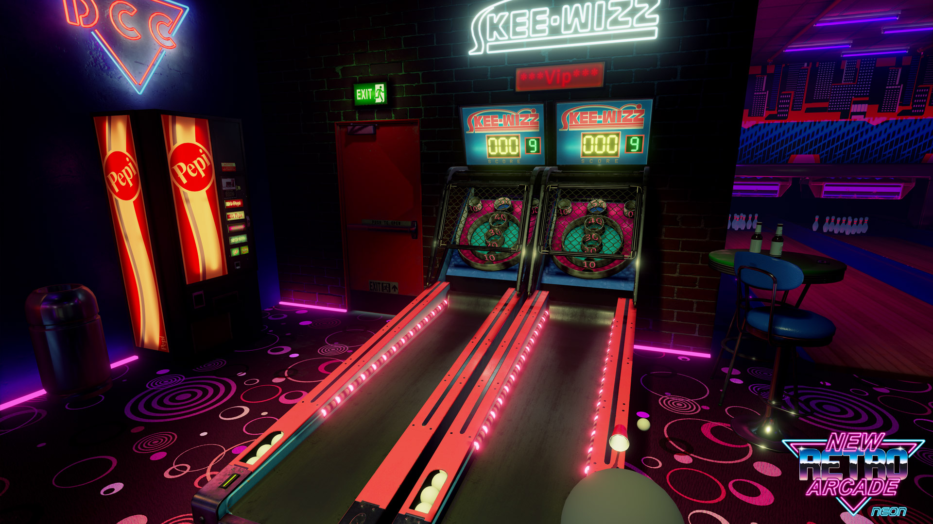 New Retro Arcade Neon Launches On Steam For Htc Vive