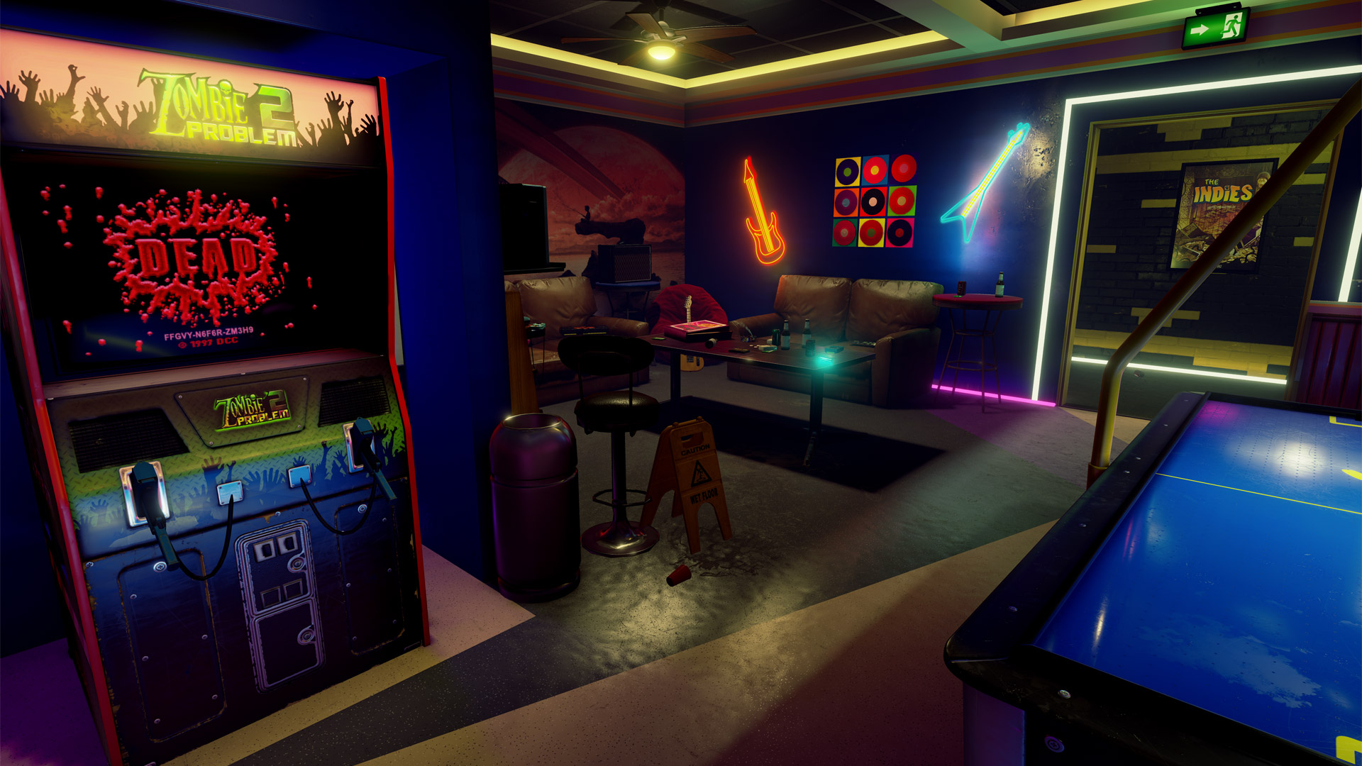 39 New Retro Arcade Neon 39 Launches On Steam For HTC Vive