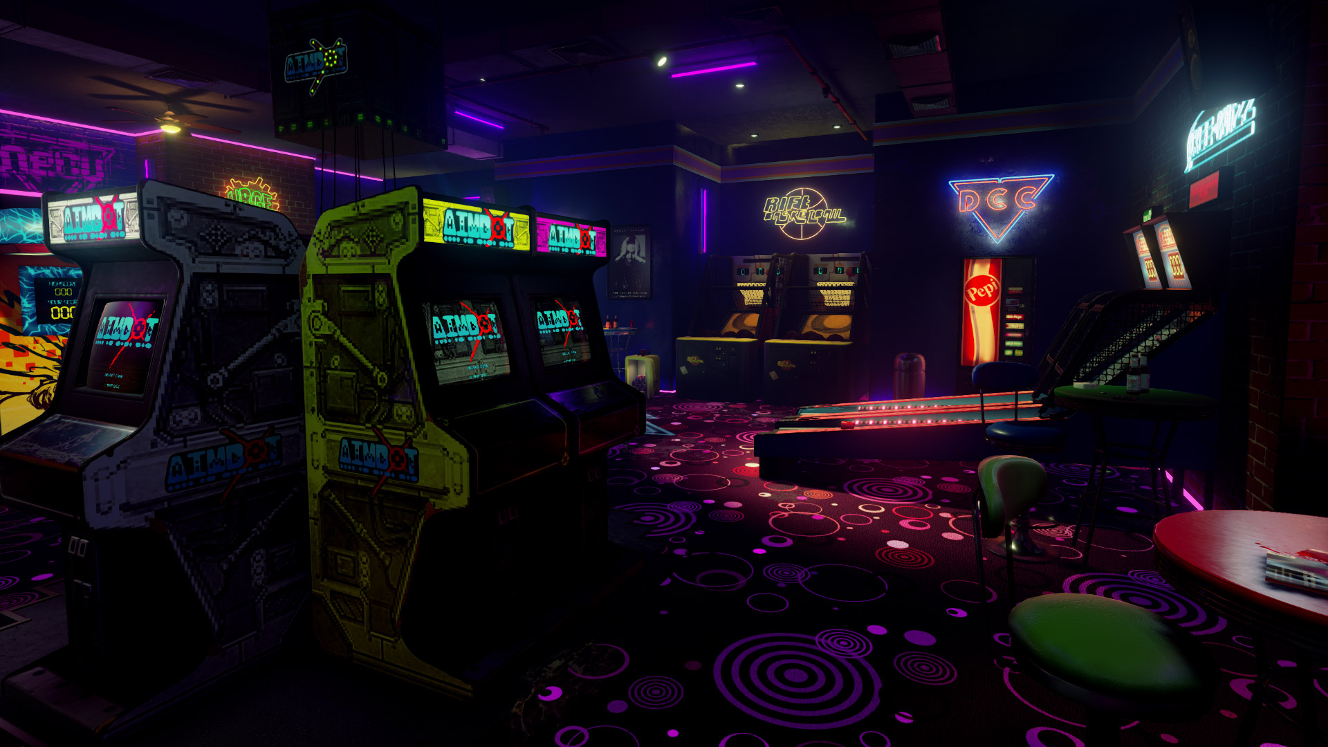 New Retro Arcade Neon Launch Release Date Steam Htc Vive