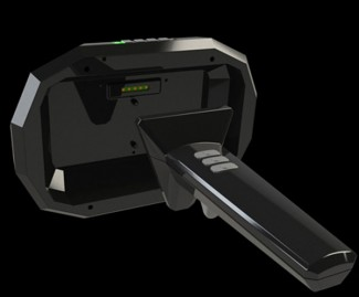 Rendering of Valve's SteamVR Tracking 'Licensee Dev Kit' tracked reference object