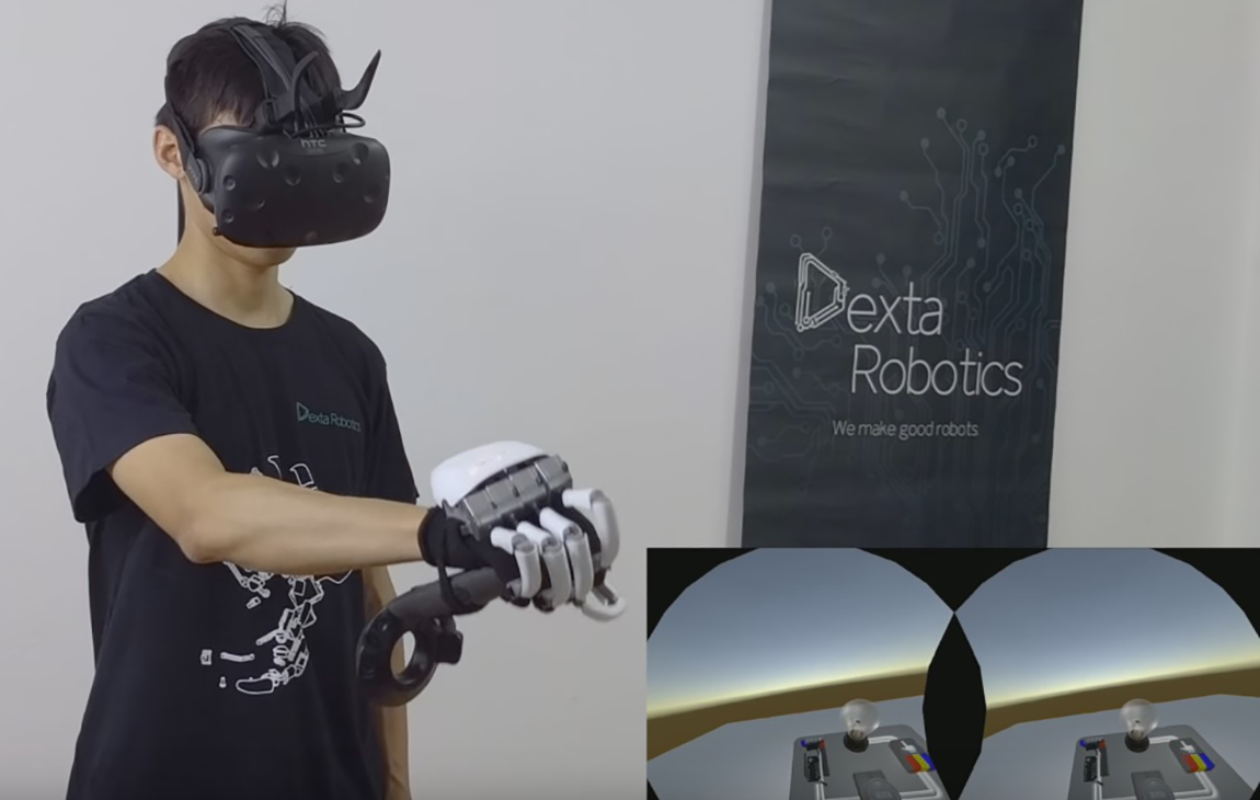 7bff36bf5773 Dexta s  Dextarity Interaction Engine  Lets Devs Build Tactile VR Worlds