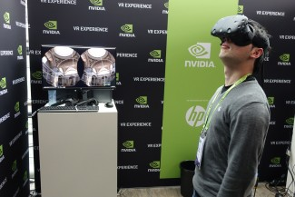 Nvidia didn't let us take any photos of the Discovery experience