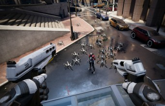 Watch: 12 Minutes of 'Robo Recall' Gameplay with Oculus Touch