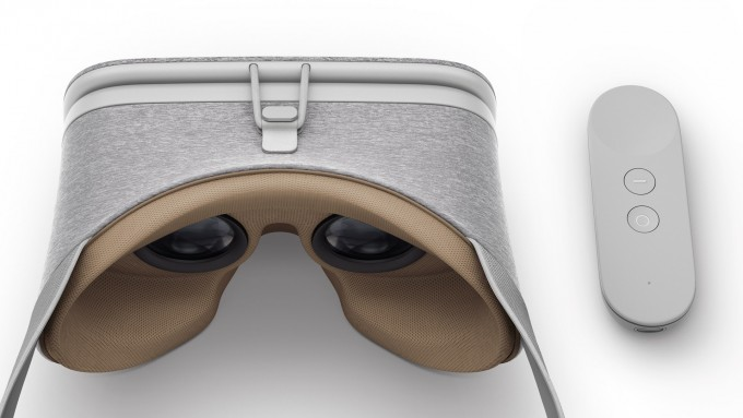 Google's Daydream View Headset and Motion Controller