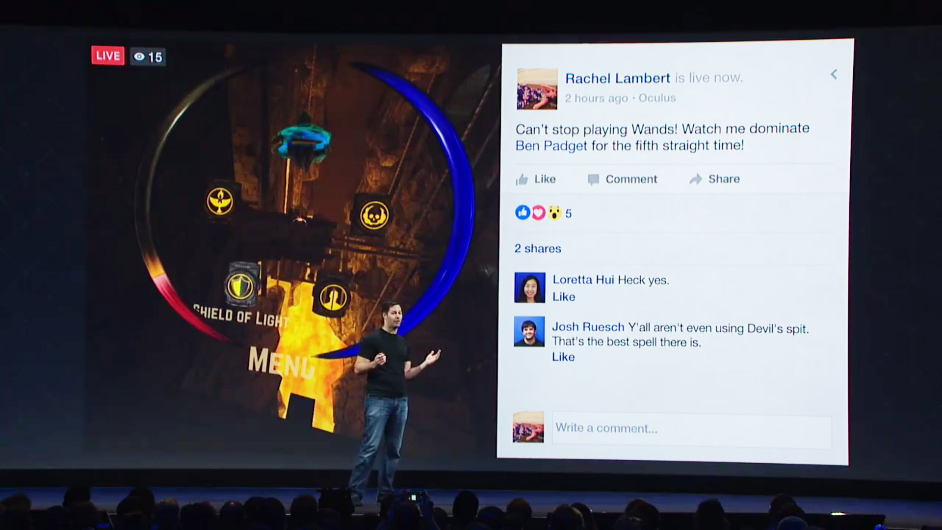 4519dd48394d Gear VR Will Soon be Able to Livestream VR Gameplay to Facebook