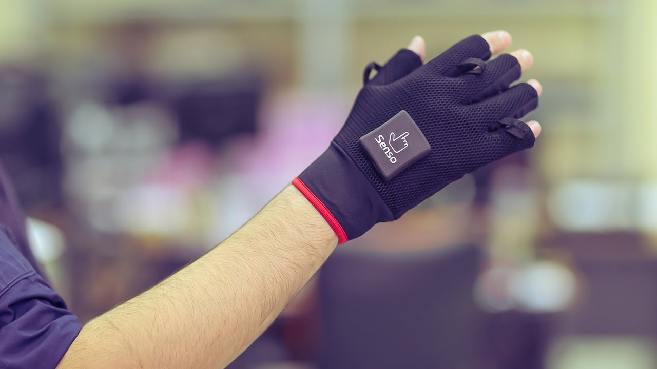 Senso is a VR Input Glove With Per-finger Haptics and Simulated Temperature